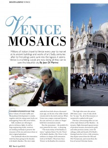 Ital Mar / Apr Venice Mosaics
